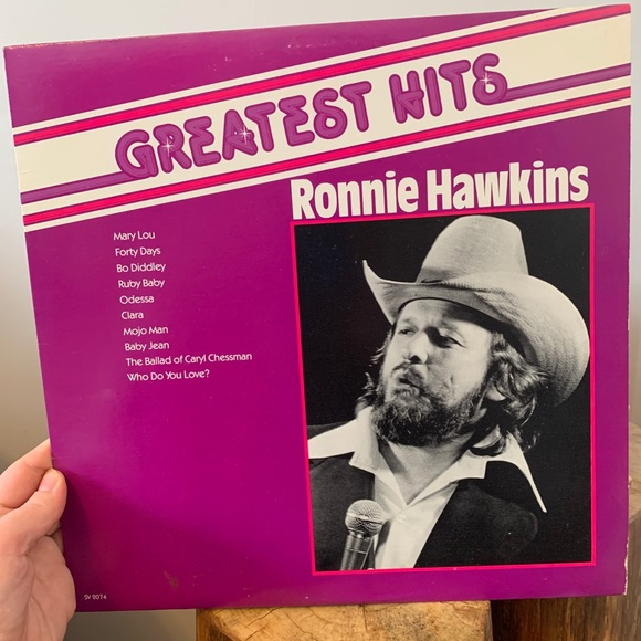 VINTAGE / Record / Greatest Hits Ronnie Hawkins